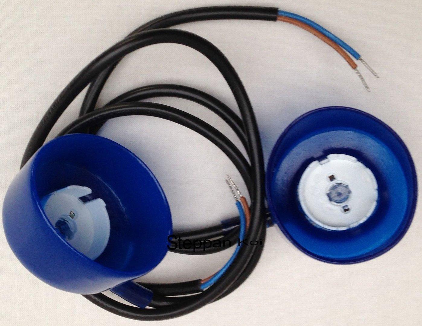 55 Watt 2 x Ersatz-Kabel mit Lampenfassung f TMC Pro Clear UVC Gerät 30 u