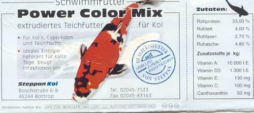 Power Color 2,5 Liter 3mm u.6mm Mix im Eimer 950g