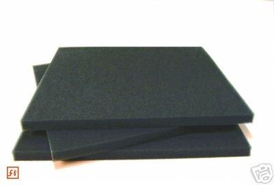 Filtermatte Koi Filterschwamm 75x50x3cm PPI45 schwarz